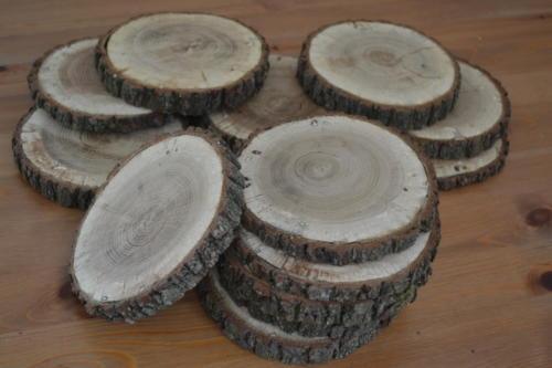 Dřevěné kulatiny - malé cca 15 cm15 ks